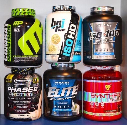 le proteine in polvere fanno male