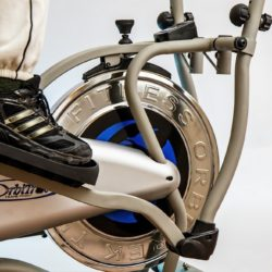trainer da casa f-bike pieghevole