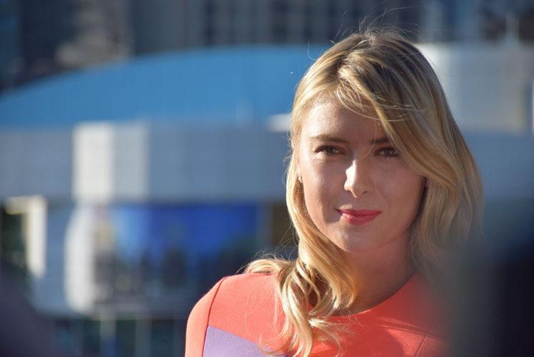 maria sharapova una delle migliori tenniste al mondo