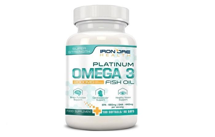 integratore olio di pesce omega 3 platinum